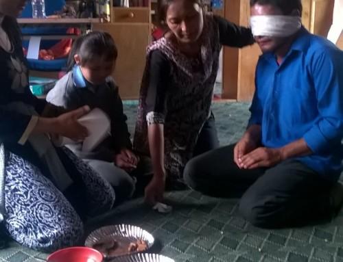 Activités à l'école de Munsel